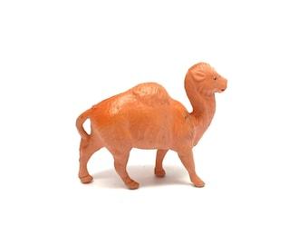 Vintage Celluloid Camel, Animal, Nativity,Zoo, Vintage Toys, Putz, Miniature, Clover Mark Japan, 1930