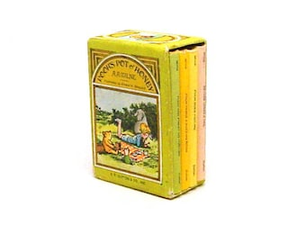 Winne the Pooh Book Set, Miniature, Pooh's Pot O' Honey, Library, First Edition, 1968