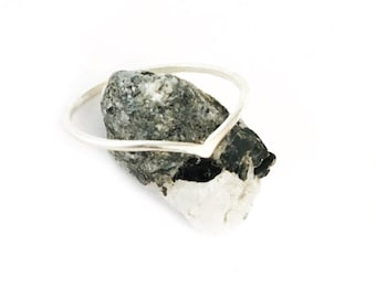 Mini Wave Sterling Silver Ring