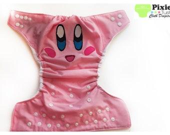 Kirby, Pop Star Size Cloth Diaper, Pocket Diaper (Photoshoot)