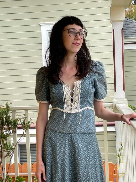 Vintage 1970s Gunne Sax Prairie Dress - image 2