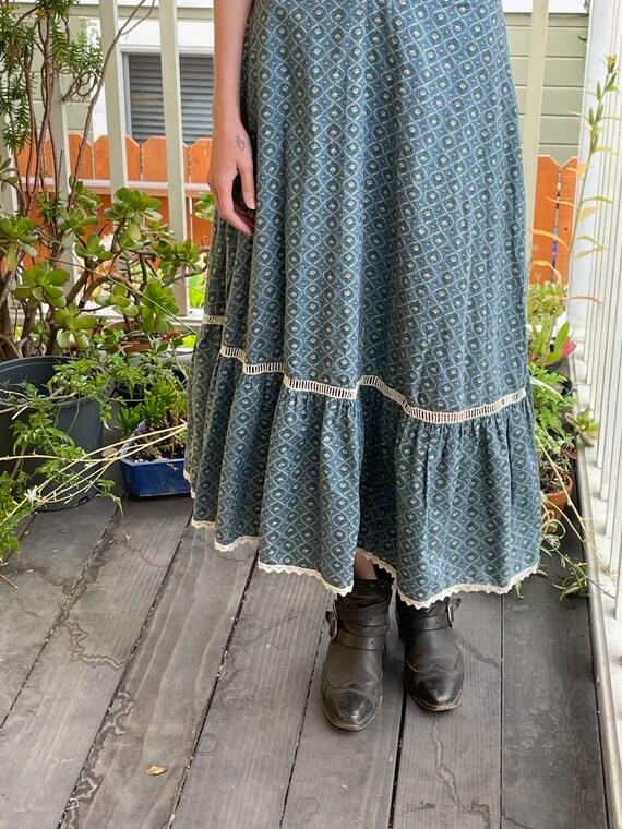 Vintage 1970s Gunne Sax Prairie Dress - image 4
