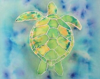 Sea Creatures: Turtle (Print)