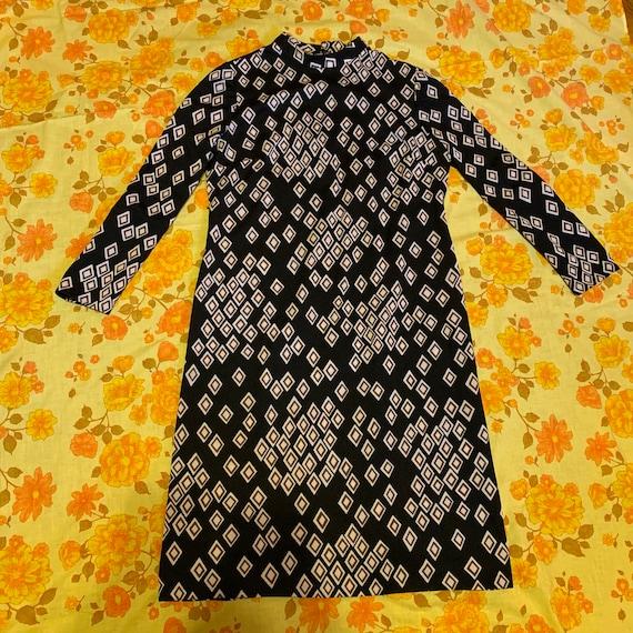 Vintage 1960s L'Aiglon Original knee-length dress