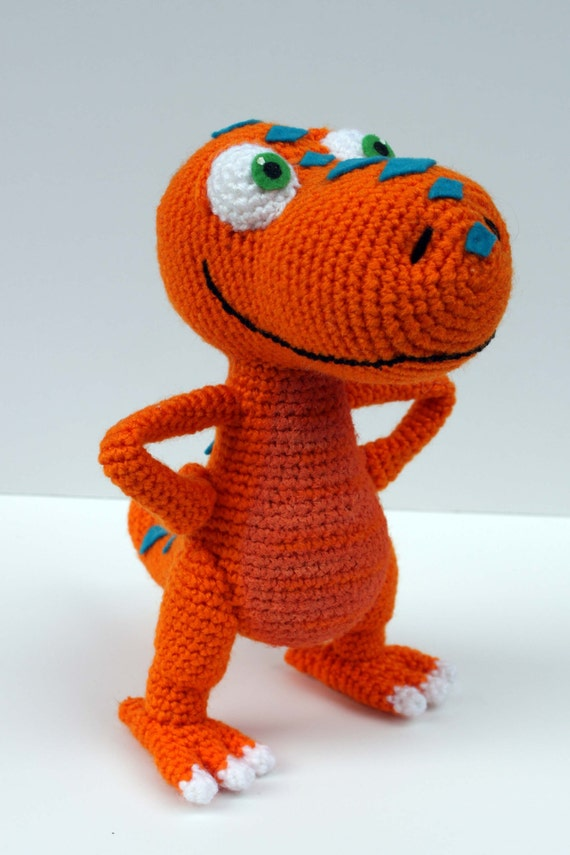 Buddy the T-Rex from the Dinosaur Train Crochet Pattern