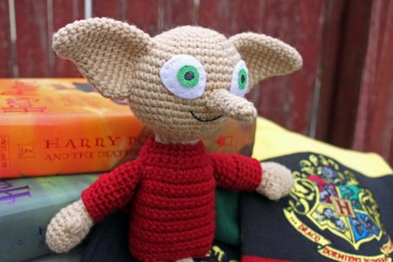 Crochet Pattern Dobby Amigurumi Harry Potter Etsy