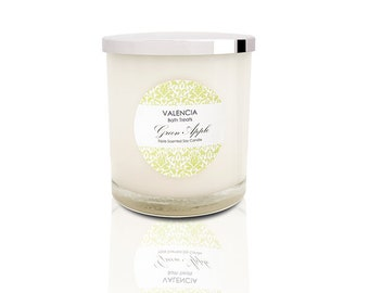 Green Apple Soy Candle - Large