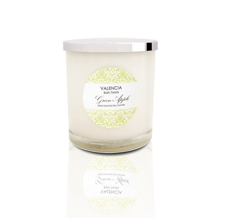 Green Apple Soy Candle  Large image 0