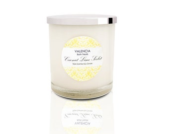 Coconut Lime Sorbet Soy Candle - Large