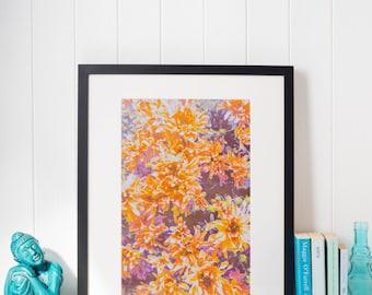Wildflower Mum Vintage Photograph 8 x 10 inch Instant Download Printable Digital Art Print