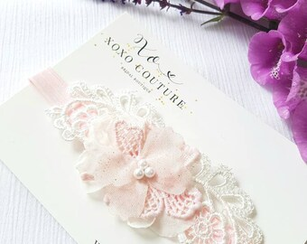 Garter OR Garter set - BLUSH