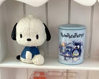 Miniature Owl Pata Pata Peppy Sanrio Bank & Puppy