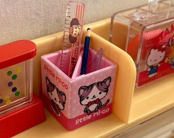 Pink Kitty Pencil Holder 6th Scale Skipper Size