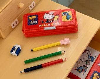 Hello Kitty Pencil Box  6th Scale Study Desk