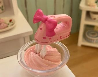 Pink Polka Dot Mixer 6th Scale Barbie & Blythe Size