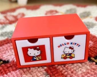 Hello Kitty Storage Drawer  6th Scale Skipper Size Diorama