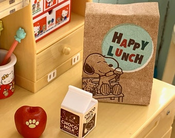 Snoopy Happy Lunch 6th Scale Skipper, Blythe & Barbie Size