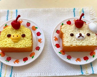 Rilakkuma Bear French Toast