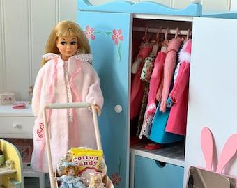 Vintage Flowered  Closet for Skipper &. Blythe Dolls