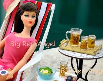 6th Scale Barbie & Blythe  Ice Tea,  Shrimp Salad