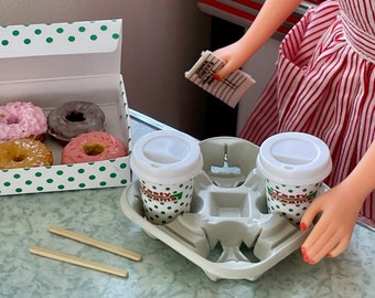 Barbie Diner Donuts to Go