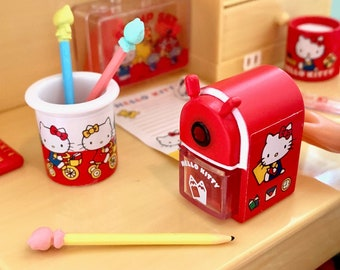 Hello Kitty Pencil Sharpener & Pencil 6th Scale