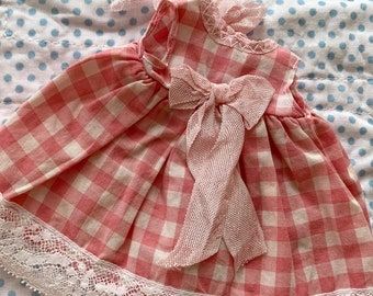 Henriette Jardin Pink Gingham Dress