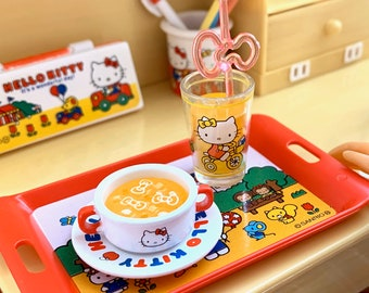 Hello Kitty Soup & Tray 6th Scale Skipper Size