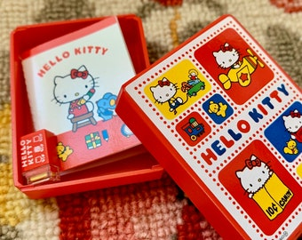 Hello Kitty Stamp Book & Storage Box 6th Scale Barbie, Skipper Size