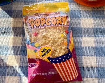 6th Scale Bag of Popcorn Picnic BBQ Barbie Size