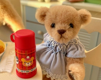 Bear Thermos and Lid