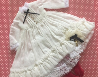 White Alice Dress & Socks Chu Things
