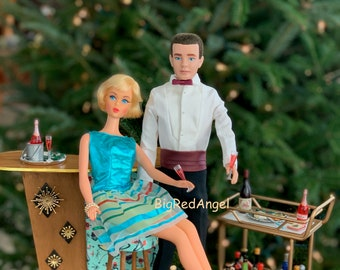 Barbie & Ken Holiday Cheer Fine Art Photograph