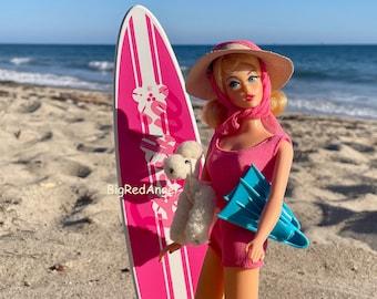 Vintage Barbie Surfer Girl Fine Art Photograph