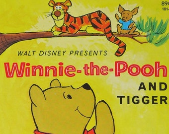 Winnie-the-Pooh & Tigger Little Golden Book Mint Unused