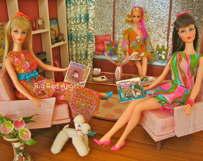 Featured listing image: Barbie Mod Party  Fine Art Photograph