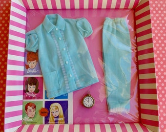 Vintage Barbie Pajama Party #1601 NRFB