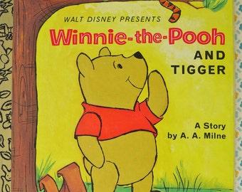 Winnie-the-Pooh & Tigger Little Golden Book Mint Unused