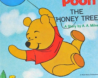 Winnie-the-Pooh & The Honey Tree Mint Unused 21st Printing Circa 1982