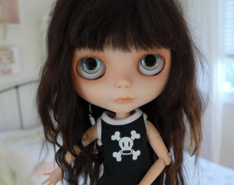 Blythe Doll Skull Cross Bone Underwear