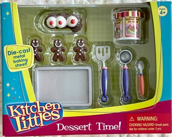 Kitchen Littles Dessert Time Tyco Barbie Size 6th Scale