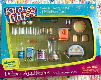 Kitchen Littles Deluxe Appliance Set 6th Scale Barbie Size