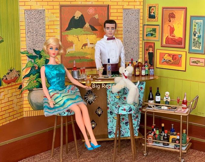 Featured listing image: Barbie & Ken Cocktail Hour Fine Art Photograph