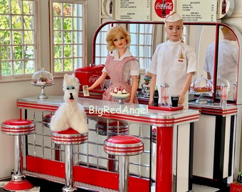 Vintage Barbie & Ken Doggie Diner Fine Art Photograph