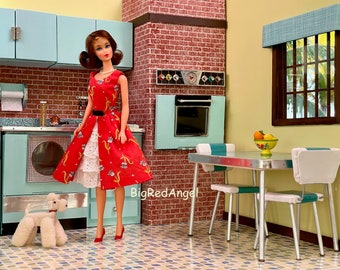 Vintage Barbie Retro Kitchen Fine Art Photo