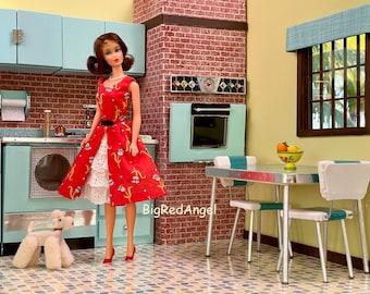 Vintage Barbie Retro Kitchen Fine Art Print