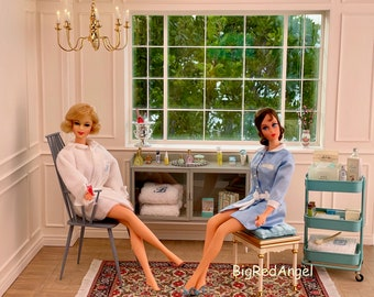 Vintage Barbie Spa Day Fine Art Photograph