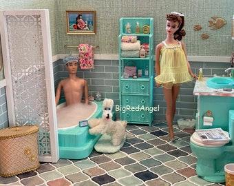 Barbie & Ken Bath Time Fun Fine Art Photograph