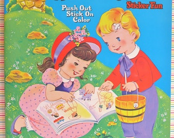Mother Goose Sticker Fun Book