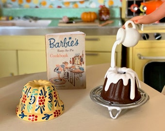 Barbie Size Bundt Cake